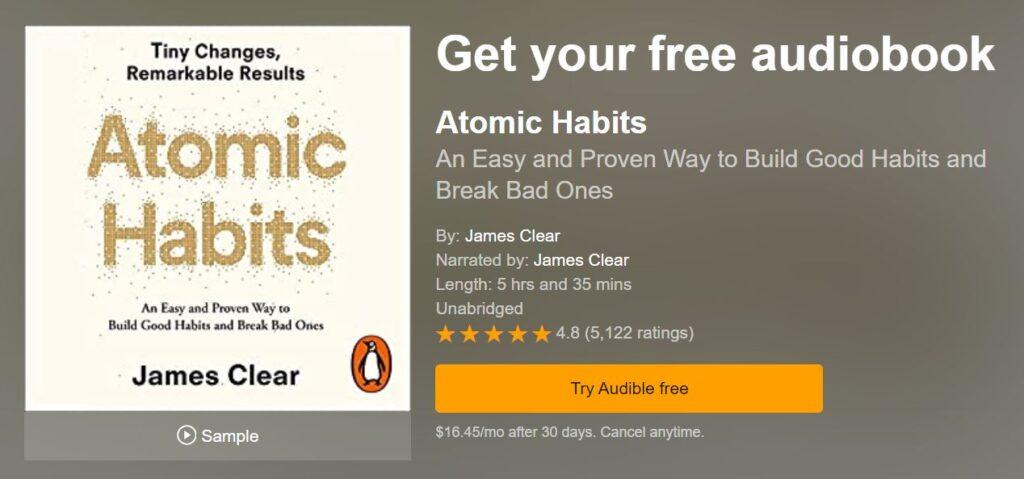کتاب AtomicHabit